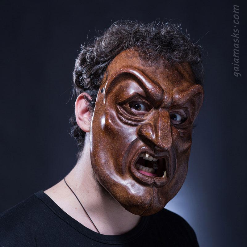 Maschera atellana Dossenus