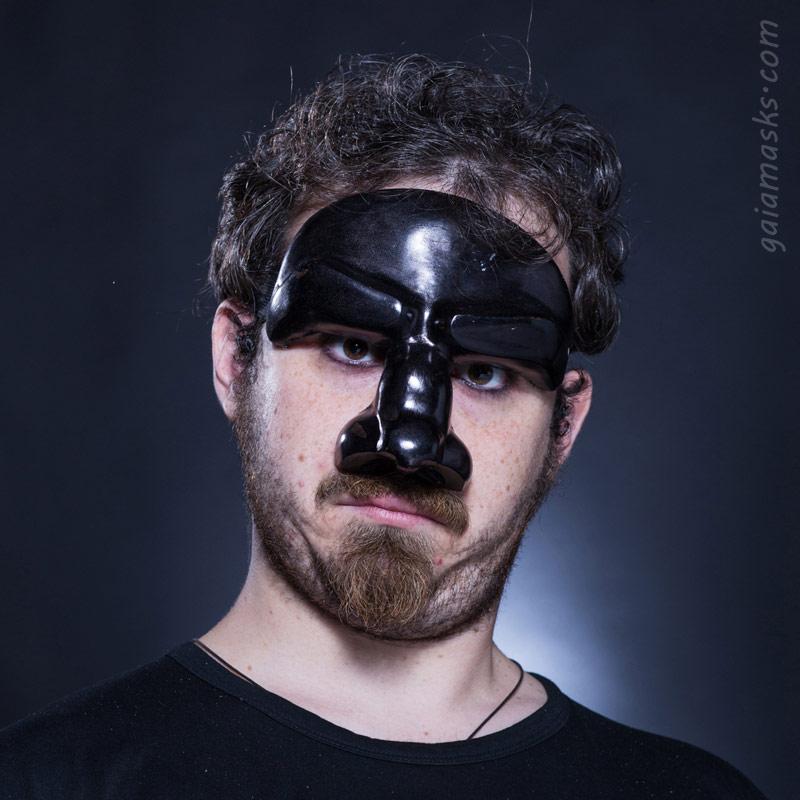 maschera in cuoio Dottore