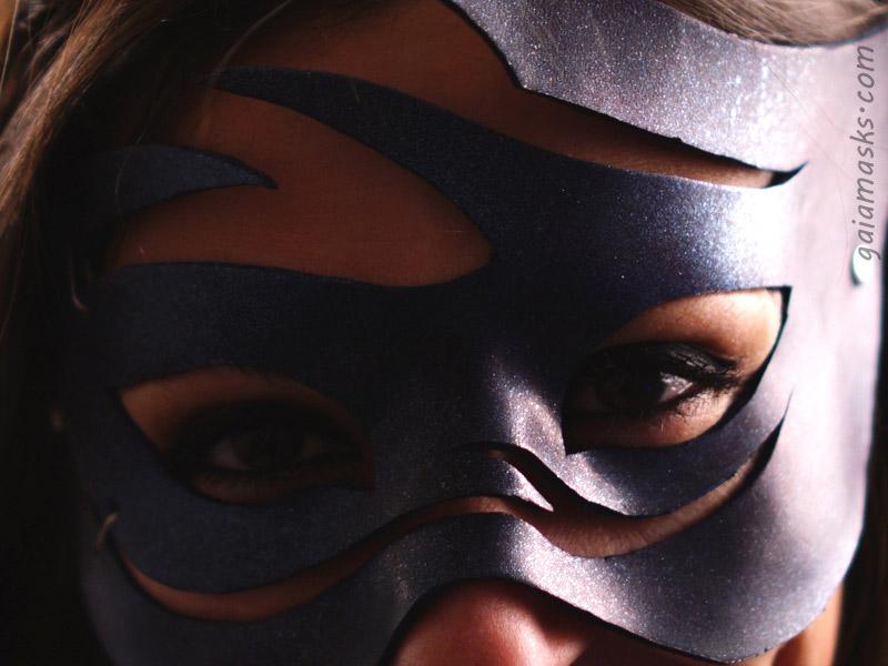 Dettaglio della maschera Aria