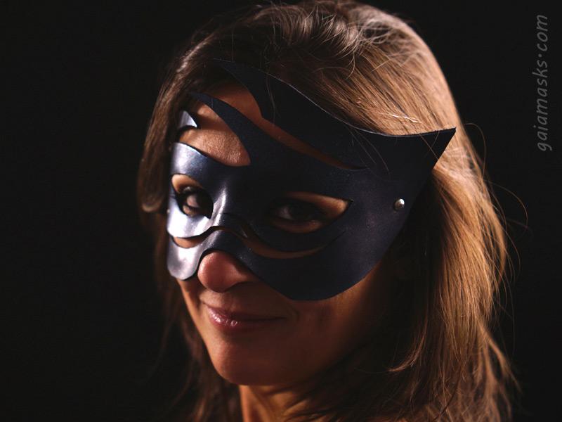 maschera in cuoio Aria