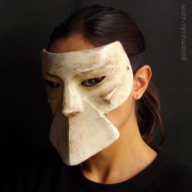 Bautta maschera del carnevale di venezia