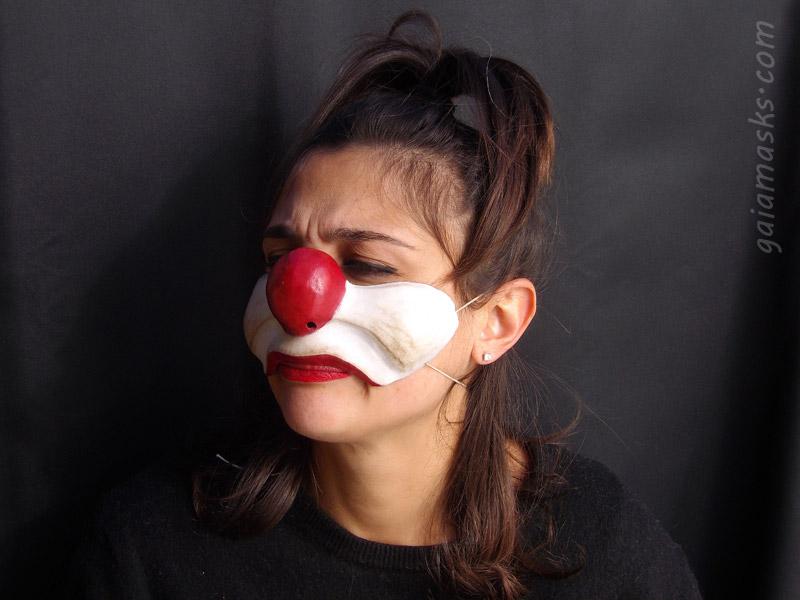 Clown Brontolone naso e guance