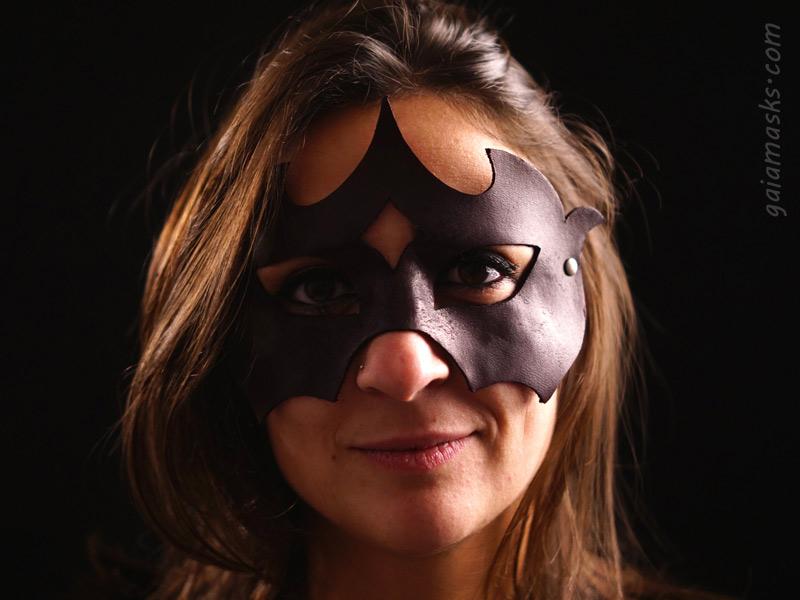 Eroica maschera in cuoio