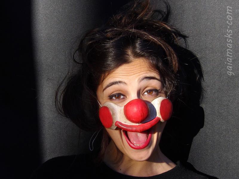 maschera Clown Felice