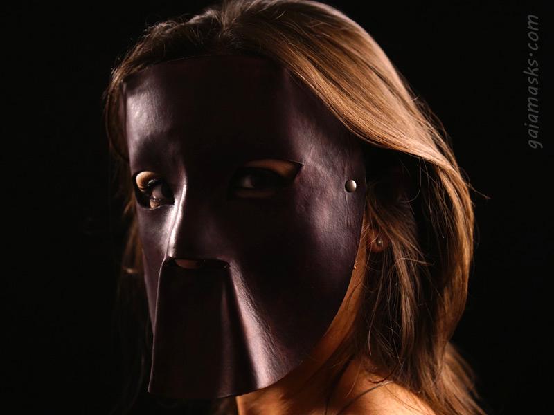 maschere boia in cuoio