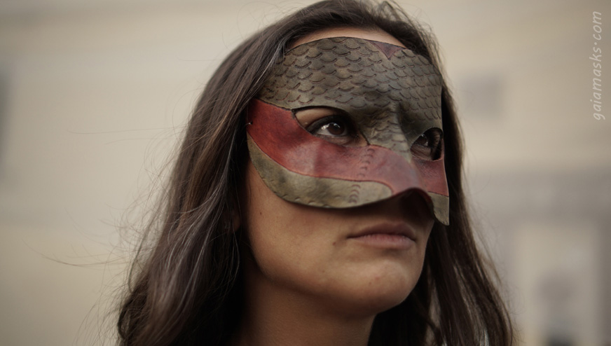 Maschera Serpente