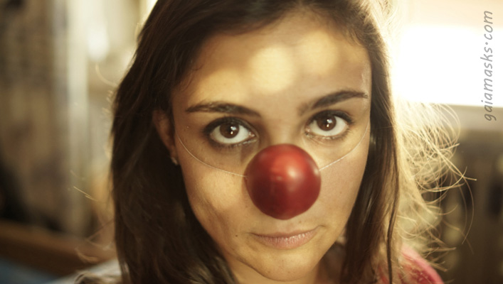 naso clown a punta