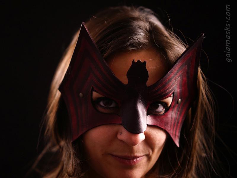 maschera di halloween Ragno