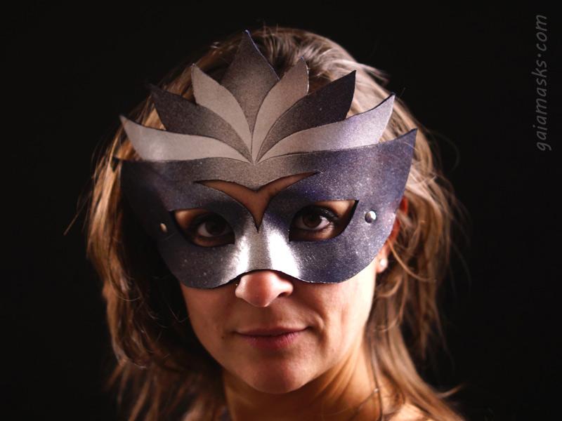 Regina argento blu masquerade