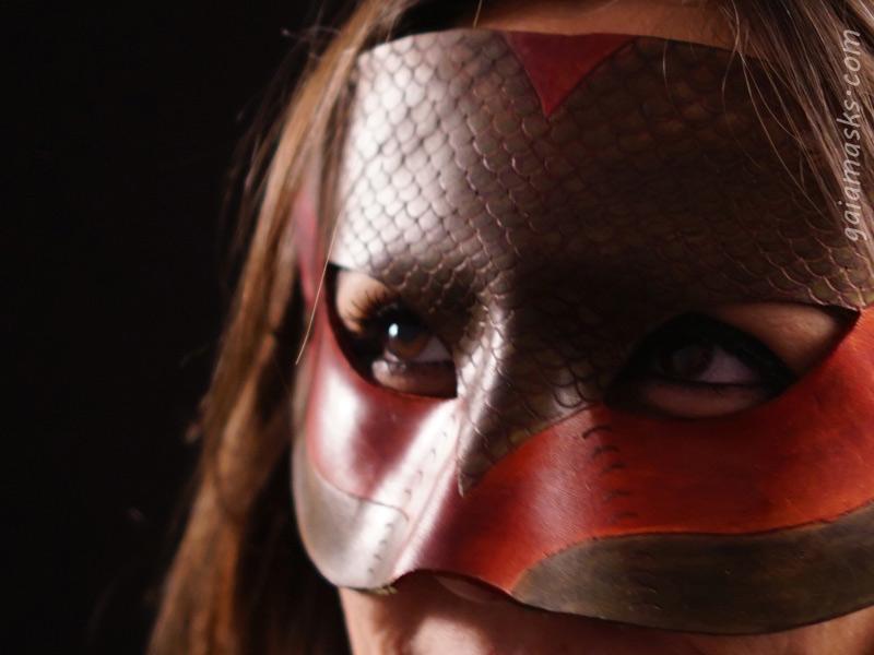 maschere in cuoio di animali: Serpente