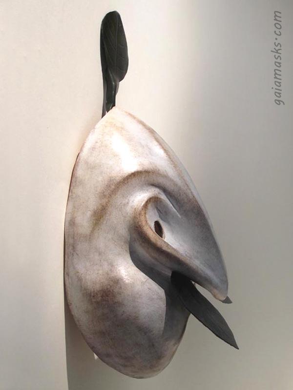 maschera commedia dell'arte Ubu Re