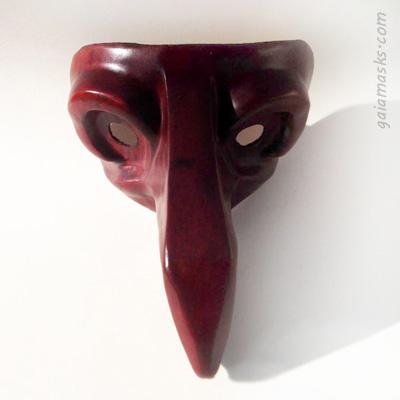 maschera commedia dell'arte Zanni Cattivo