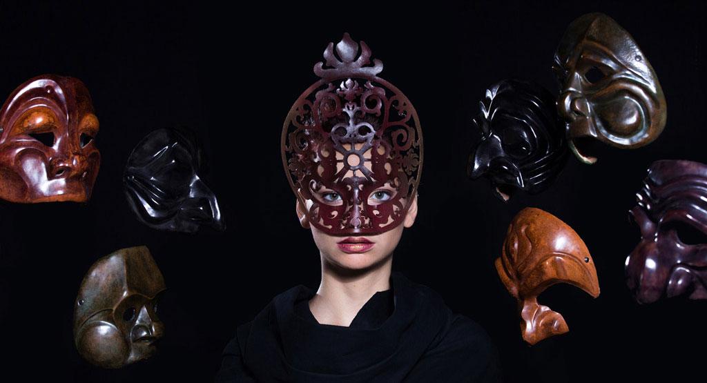 Progetti di maschere nell'arte e nella moda