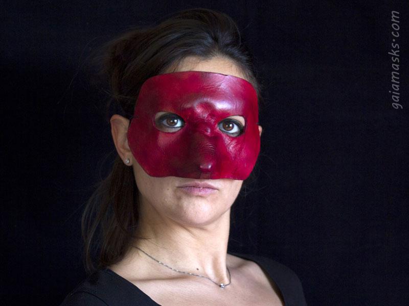 maschere in cuoio Capitano