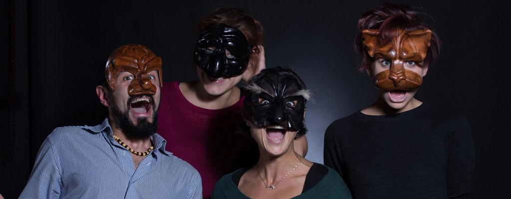 Commedia dell'Arte maschere