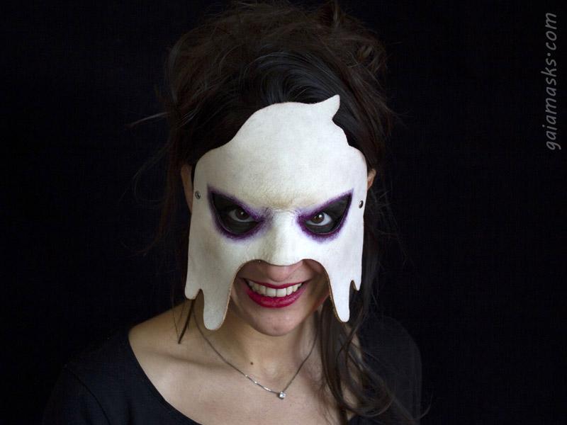 maschera Fantasma in cuoio