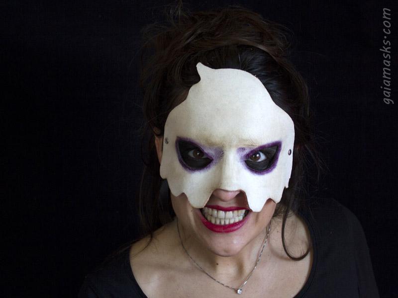 maschera Fantasma piccolo in cuoio