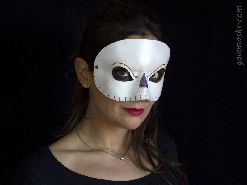 Maschera in Cuoio Nightmare Before Christmas