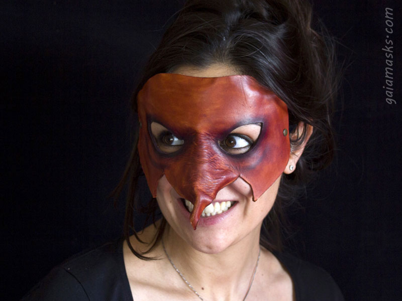 maschera leggera della Strega