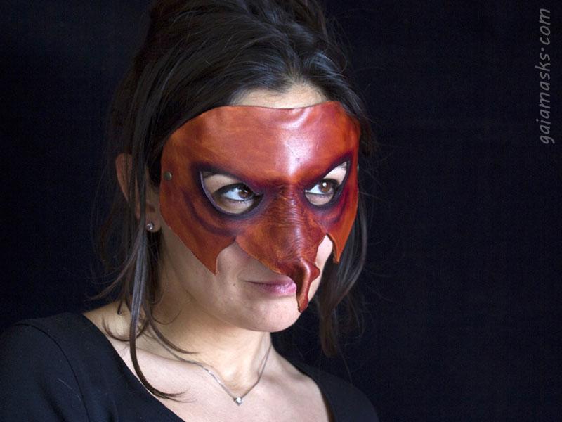 maschere di commedia dell'arte leggere: Strega