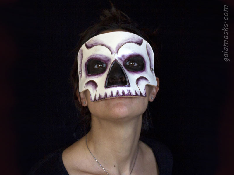 maschera facciale teschio