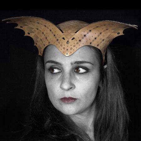 catalogo maschere: tiare e copricapi