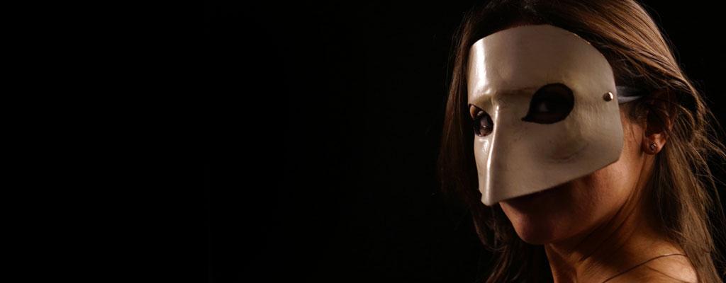 Maschere Veneziane dell'antico Carnevale