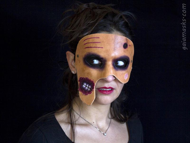 Maschera Zombie terrificante