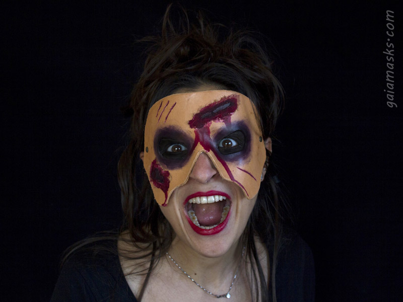 Maschera Zombie di Halloween