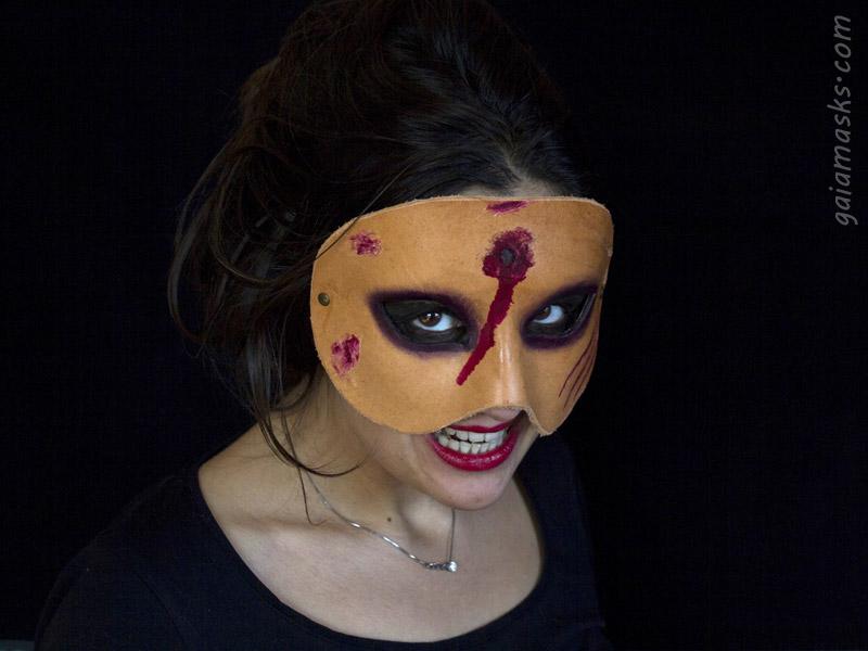 Zombie con Sparo Cattivo per Halloween
